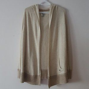 TNA Knitted Hooded Cardigan